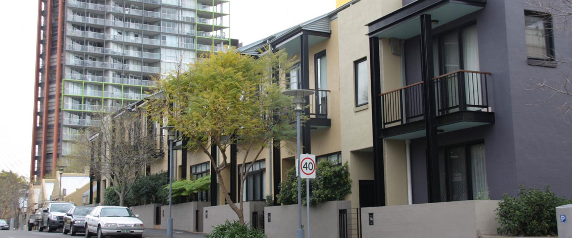 Low Rise Apartments in Pyrmont